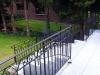 Treppengeländer von oben