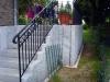 Treppengeländer von rechts