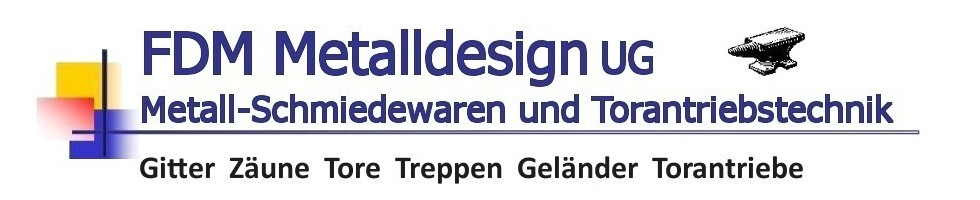 Logo FDM-Metalldesign